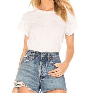 LNA Heart Crop Tee